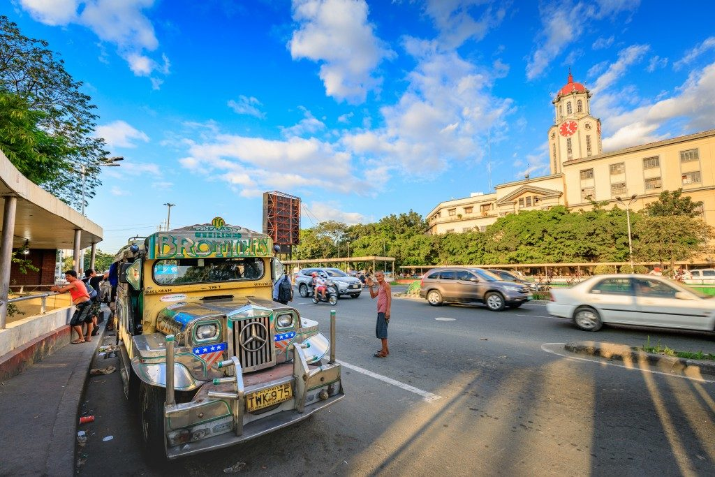 Jeepney as major transportation in Manila