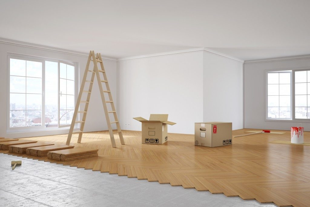 Flooring installation
