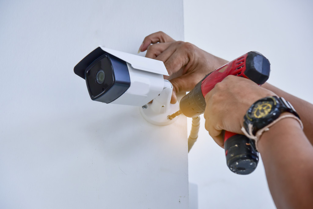 Installing a CCTV