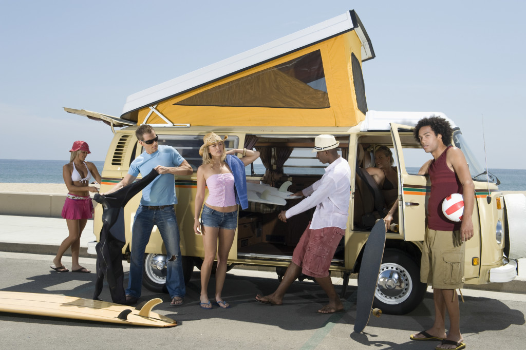 traveling using camper van