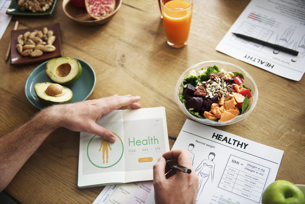 Planning healthy eating