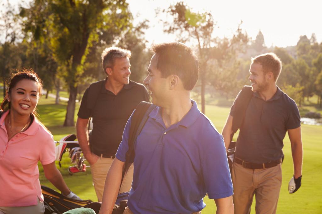 golf as a hobby